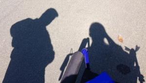 Walking the loop - us doing stuff