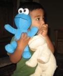 34.  (Tough) Cookie Monster