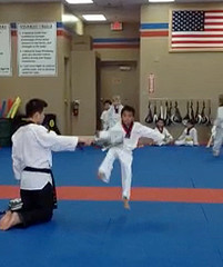 Josh at Karate Class Feb '12