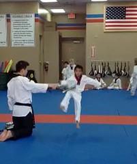 Josh at Karate Class Feb '12