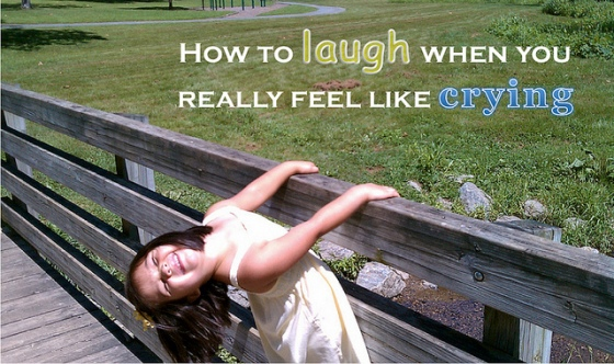 How to Laugh when you Really Feel Like Crying (dealing with long term illness)
