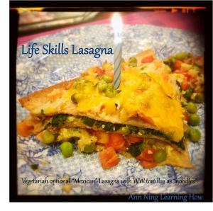 Life Skills Lasagna