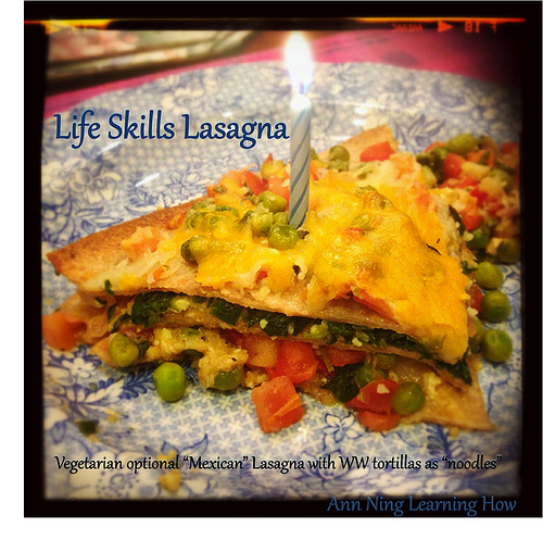 "Easy Life Skills ""Mexican"" Lasagna 