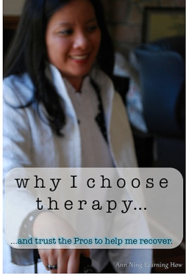 Why I Choose Therapy || Ann Ning Learning How