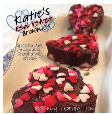 157.  Katie's Red Velvet Brownies