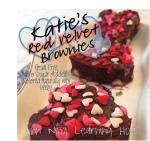 Katie's Red Velvet Brownies