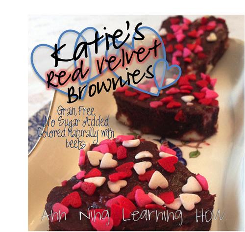 Katie's Red Velvet Brownies [Grain Free, NSA] || Ann Ning Learning How