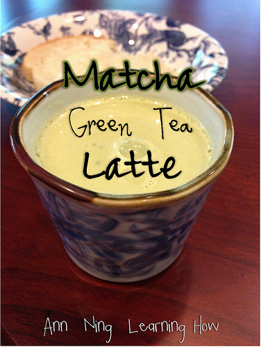 Matcha Green Tea Latte || Ann Ning Learning How