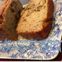 189.  Coconut Flour Banana Bread [Grain/Dairy Free, No Sugar Added]