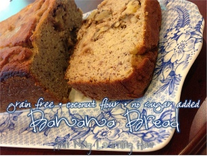Coconut Flour Banana Bread [Grain Free, No Sugar Added] || Ann Ning Learning How
