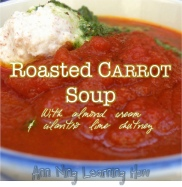 199. Roasted Carrot Soup