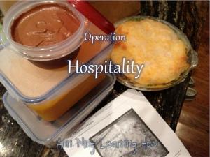 219.  Operation Hospitality