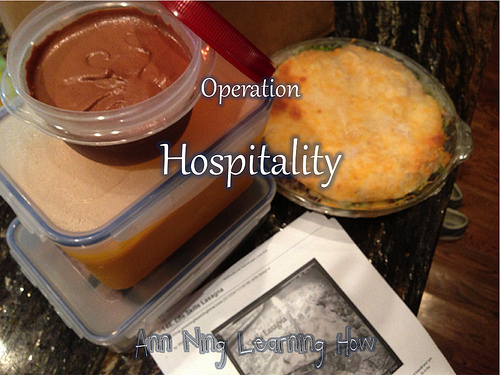 Operation Hospitality | Ann Ning Learning How