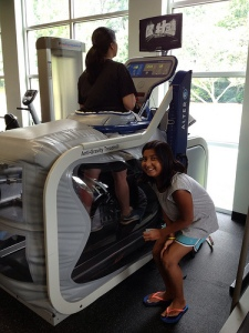 219.  Operation Hospitality (This is what an Alter G looks like)