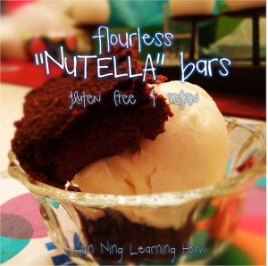 "229.  Flourless ""Nutella"" Bars"