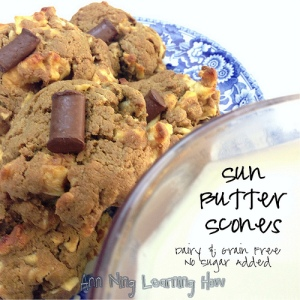 266.  Sun|Almond Butter Scones