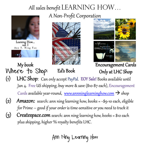Learning How Corp | Nonprofit | Shopping Guide | Ann Ning Learning How