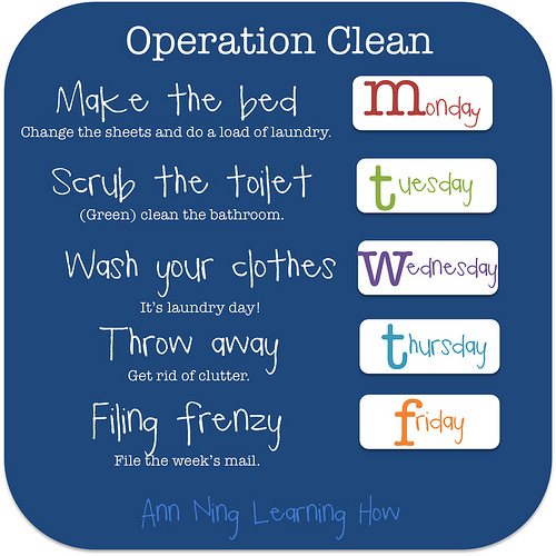 Operation Clean |Ann Ning Learning How