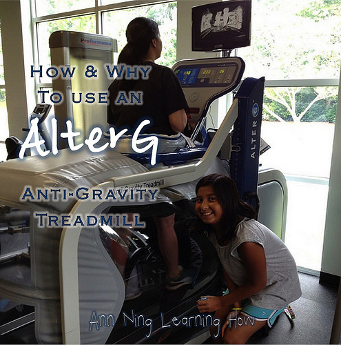 Using an AlterG | Ann Ning Learning How