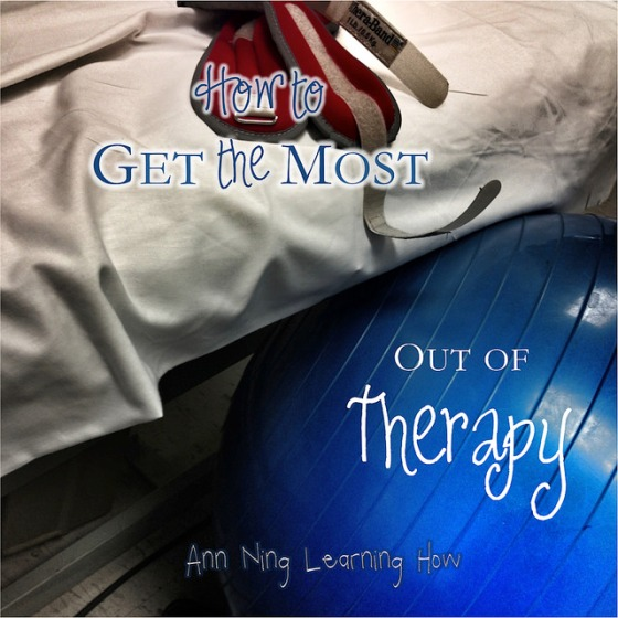 How to Get the Most out of Therapy | Ann Ning Learning How
