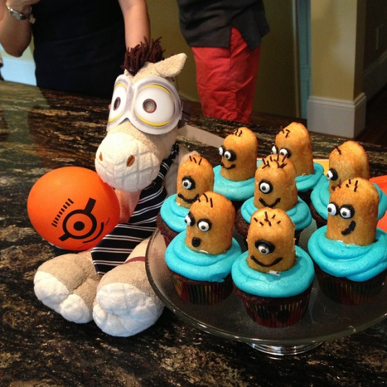 Ed's birthday party theme this year was *Despicable Me*