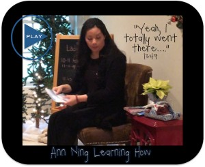 Ann Ning Learning How | Dec 14 - AVM and Stroke Recovery Yr 3 | Yeah, I totally just went there