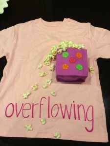 474.  Overflowing|Kpop's T-shirt for a school vocab project