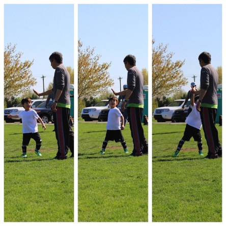 Another winner from Ezra's soccer game